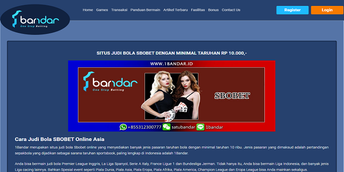 The Agen Judi Online Bola Casino Sbobet Game