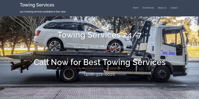Towing Services Towing Fairfax VA
